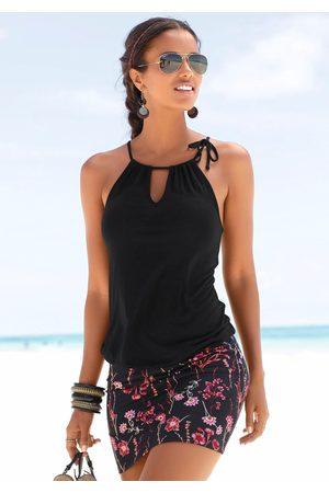 Lascana Strandkleid, mit bedrucktem Rockteil