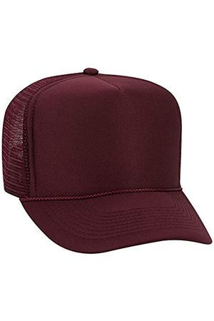 OTTO Wholesale 12 x Polyester Foam Front 5 Panel High Crown Mesh Back Trucker Hat - - (12 Pcs)