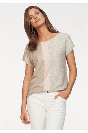Laura Scott T-Shirt, mit Glanzeffekten