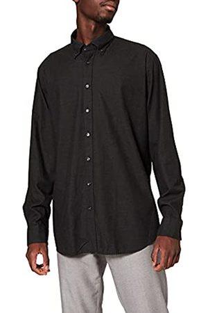 Seidensticker Herren Tailored Fit Langarm mit New Button-Down-Kragen Bügelleicht-Smart Business by -100% Baumwolle Businesshemd