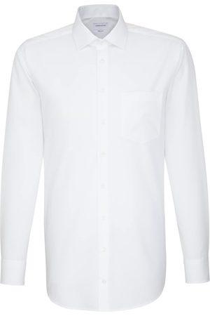 Seidensticker Businesshemd »Regular«, Regular Extra langer Arm Kentkragen Uni