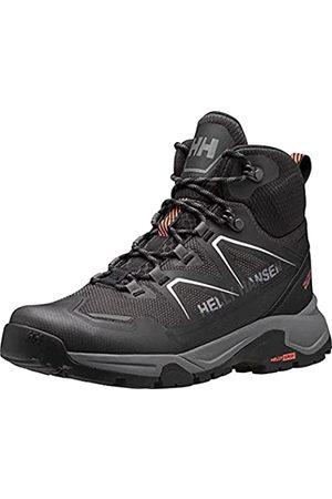 Helly Hansen Herren W Cascade Mid HT Ankle Boot, Black/Bright Bloom