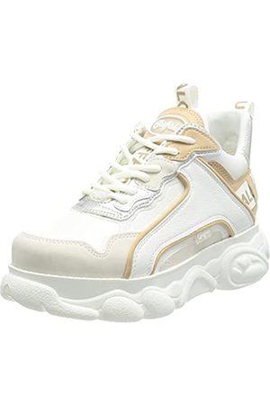 Buffalo Damen CLD CHAI Sneaker, White/Silver