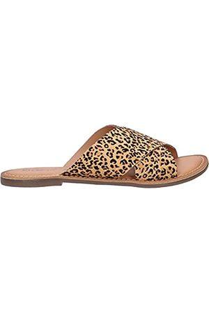 Kickers Damen Sandalen - Unisex DIAZ-2 Sandale, mit Leoparden-Aufdruck