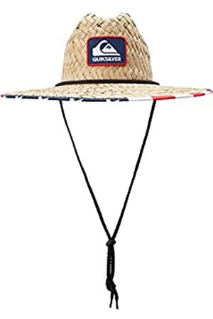 Quiksilver Herren Outsider Sun Protection Straw Lifeguard Hat Sonnenhut, Marineblau/ /