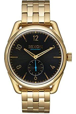 Nixon Unisex-Armbanduhr C39 SS Analog Quarz Edelstahl A950-510-00