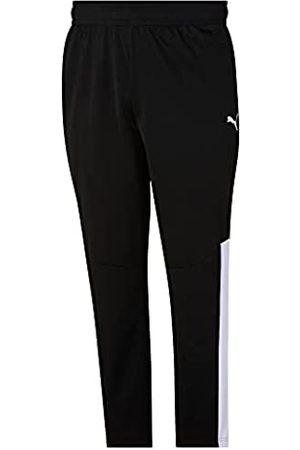 PUMA Herren Contrast Pants Trainingshose, Black White