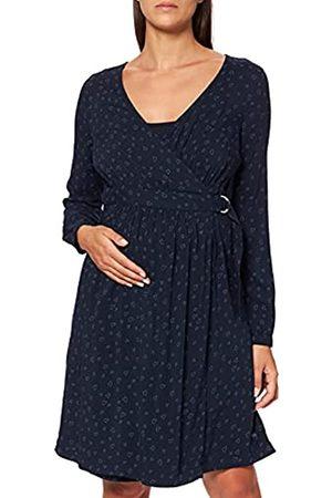 Esprit Damen Dress WVN Nursing ls AOP Kleid