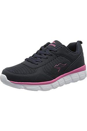 KangaROOS KR-Lima Damen Sneaker, (dark navy/daisy pink)