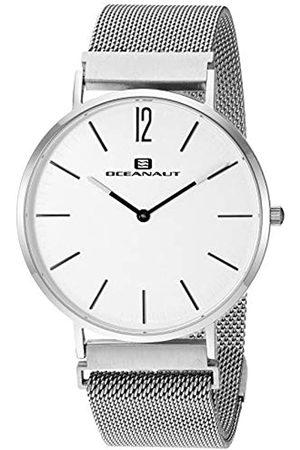 Oceanaut Herren Magnete Analog Quarz Edelstahl Armband 20 Casual Uhr (Modell: OC0100)