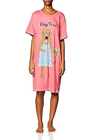 Hatley Damen Dog Tired Mugs Nachthemd