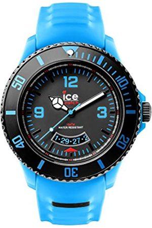 Ice-Watch Herren - Armbanduhr Ice Miami Analog Quarz Silikon SU.TE.BB.S.14