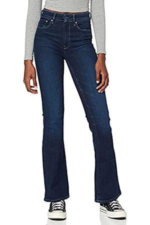 G-Star Womens 3301 Flare Skinny Jeans