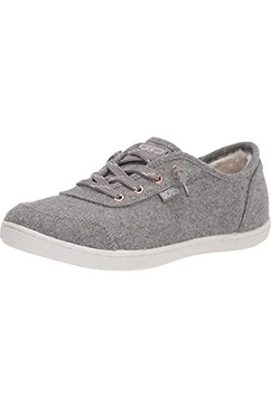Skechers Damen Bobs B Cute-Wool Faux lace Slip on Sneaker