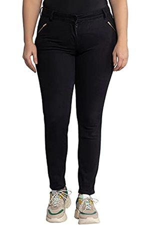 Ulla Popken Damen Jeans Sarah, High-Waist, 4-Pocket, schmale Passform Hose