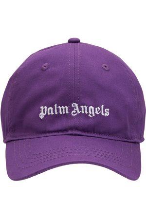 Palm Angels Baseballkappe Aus Baumwollgabardine Mit Logo