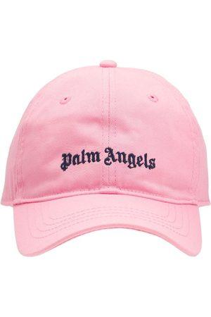Palm Angels Mädchen Hüte - Baseballkappe Aus Baumwollgabardine Mit Logo