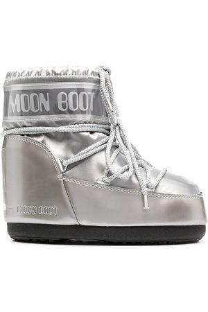 Moon Boot Schneestiefel in Metallic-Optik