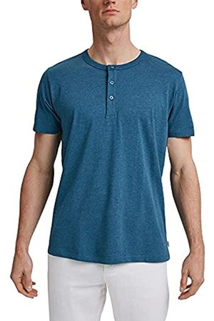 Esprit Jersey-Henley-Shirt aus 100% Bio-Baumwolle