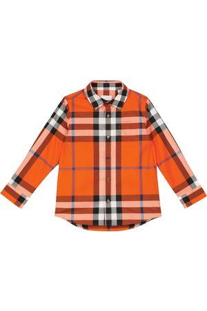 Burberry Jungen Hemden - Hemd Vintage Check aus Twill