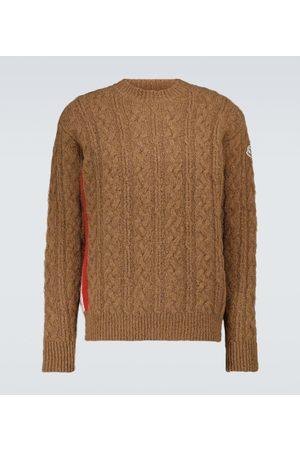 Moncler Strickpullover - Pullover aus Alpaka und Wollgemisch