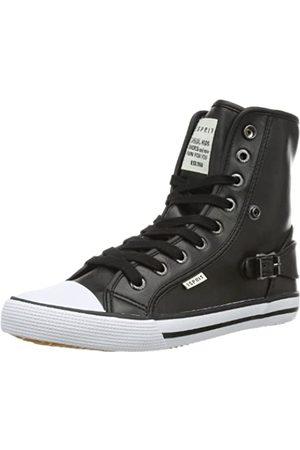 Esprit Jungen Schuhe - Benny Metal Hi 024EKKW027, Unisex-Kinder Sneaker, (black 001)