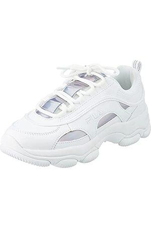 Fila Damen Strada Dreamster wmn Sneaker, White/Iridescent