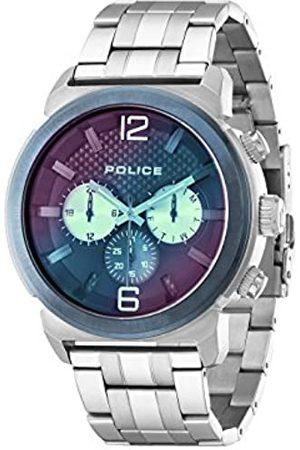 Police Herren-Armbanduhr CONCEPT Chronograph Quarz Edelstahl 14377JSTBL/03M