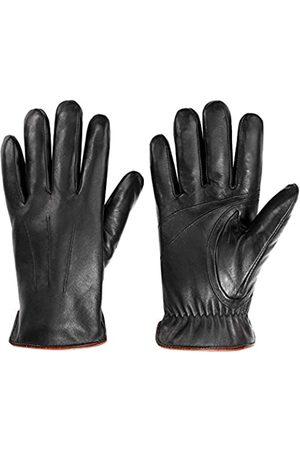 MaxW Herren lederhandschuhe, luxus soft-winter-warme handschuhe