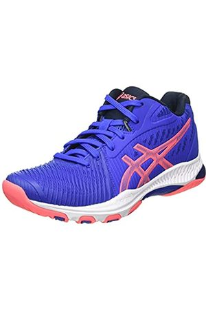 Asics Damen Netburner Ballistic FF MT 2 Volleyball Shoe, Lapis Lazuli Blue/Blazing Coral