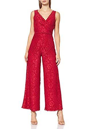 Little Mistress Damen Red Jumpsuit Overall