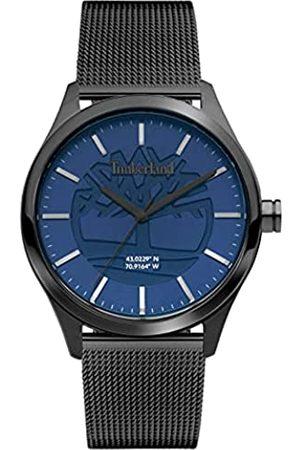 Timberland Herren Analog Quarz Uhr mit Edelstahl Armband TDWGG2100802