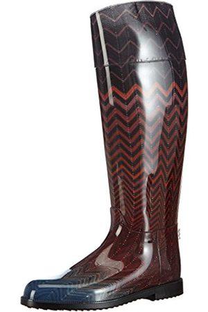 Missoni Damen Rain Boot Gummistiefel, Mehrfarbig (90-Multicolor)