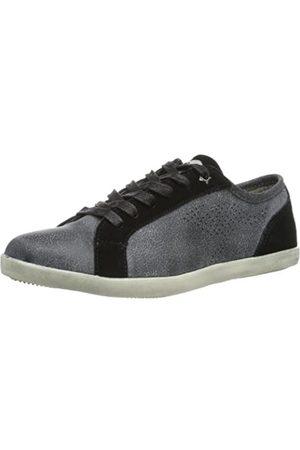 KangaROOS Rihanna 3499A Damen Sneaker, (Black 500)