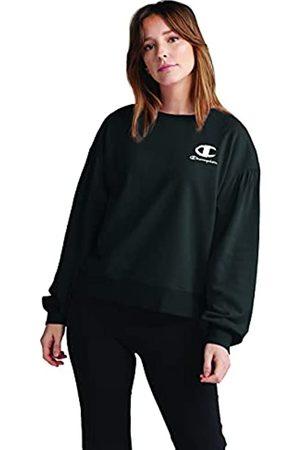 Champion Damen Campus French Terry Puff Sleeve Crew Sweatshirt