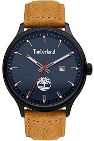 Timberland Herren Analog Quarz Uhr mit Leder Armband TDWGB2102202