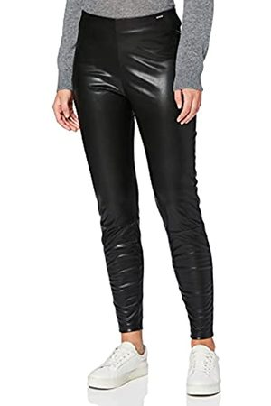 Herrlicher Damen Faith Fake Leather Hose