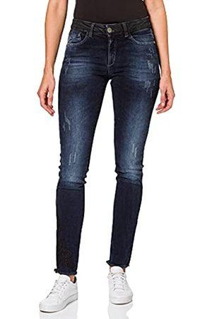 Pierre Cardin Damen Fav Check Skinny Jeans