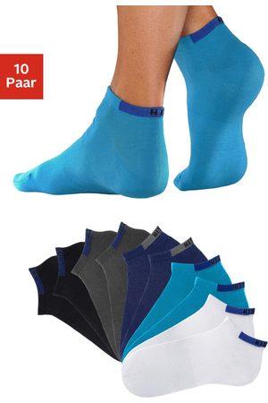 H.I.S Damen Unterwäsche - Sneakersocken, (10 Paar), mit verstärkten Belastungszonen