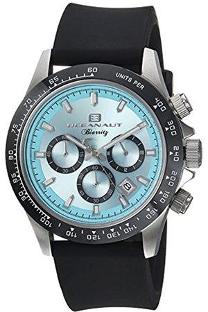 Oceanaut Herren analog Quarz Uhr mit Gummi Armband OC6111R