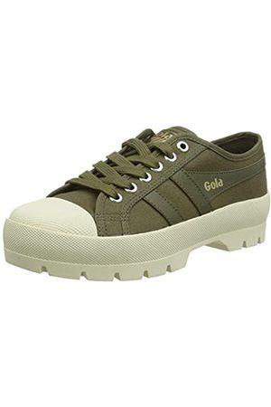 Gola Damen Coaster Peak Sneaker, Khaki/Off White