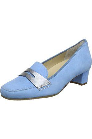 Hassia Verona, Weite H 5-303642-34770, Damen Slipper, (jeans/altsilber 3477)