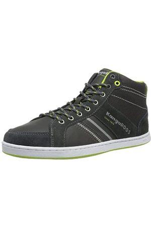 KangaROOS Damen Schuhe - Jurek 7442A Unisex-Erwachsene Sneaker, (dk Grey/Lime 282)