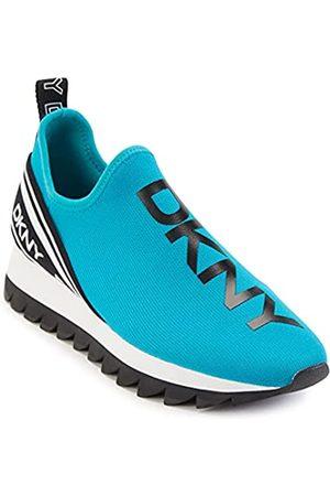 DKNY Damen Sneaker, Lagoon Blue/Black Abbi
