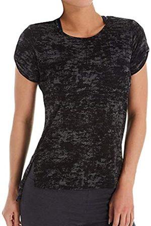 Jockey Damen Short Sleeve Flowy Side Slit Tee T-Shirt