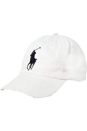 Polo Ralph Lauren Men`s Cotton Chino Baseball Cap With Adjustable Leather Strap