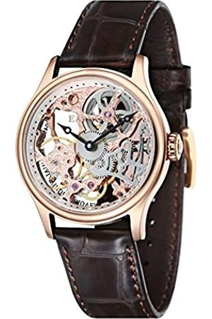 THOMAS EARNSHAW Herren- Armbanduhr Bauer Analog Handaufzug