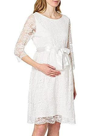 Esprit Damen Dress 3/4 sl Kleid, Off white-110