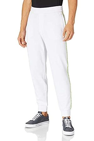 Armani Mens Sustainable White Casual Pants