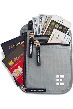 Zero Grid Brustbeutel Brusttasche Reisedokumententasche mit RFID Blocker Reisegeldbeutel